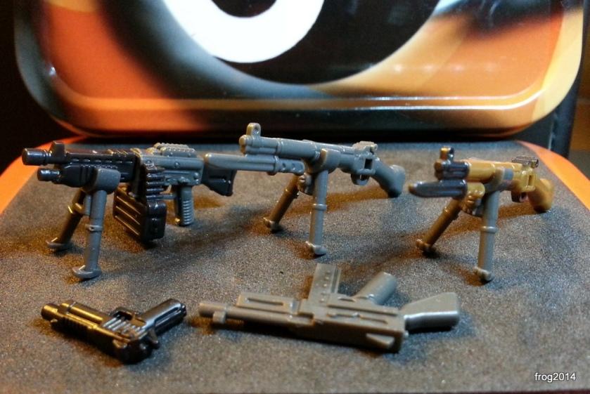 MegaBloks weaponry