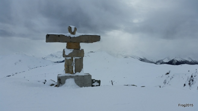 A real Inukshuk