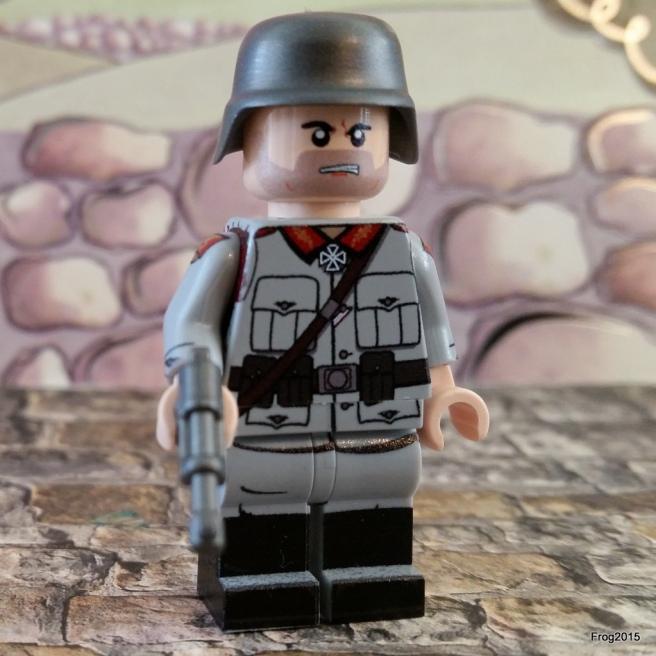 Carl in 'battle ready' mode