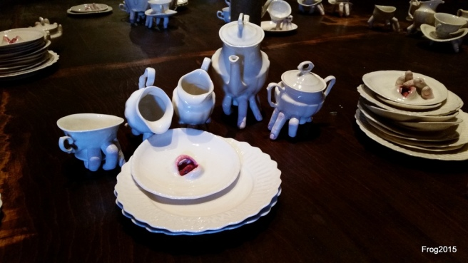 crockery that can pour itself.
