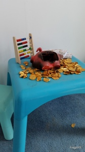 pocket money loans - hand over your chocolate coins!