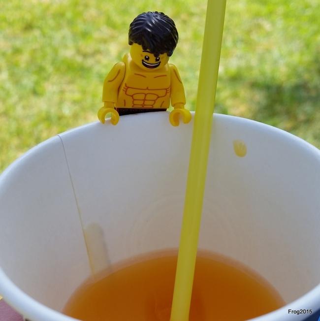 Yay! Orange drink!