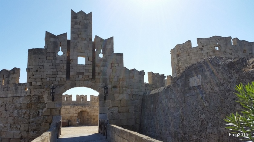 Rhodes Old Town wall